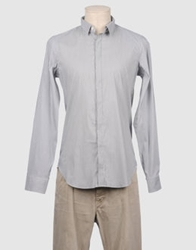 Bagutta Long Sleeve Shirts Grey