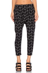 Craft And Commerce Harem Pant Black And White
