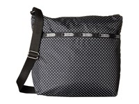 Le Sport Sac Small Cleo Crossbody Hobo Jet Set Pin Dot Cross Body Handbags Black