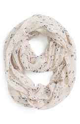 Junior Women's Bp. Speckled Floral Infinity Scarf