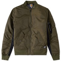 Carhartt Ashton Ma 1 Bomber Jacket Green