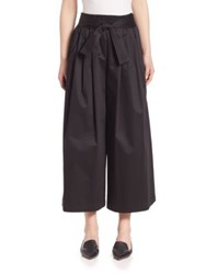 Tome Cotton Sateen Karate Pants Black
