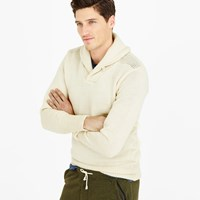 J.Crew North Sea Clothing Expedition Shawl Collar Sweater