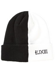 Ejxiii Color Block Beanie Hat