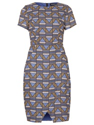 Sugarhill Boutique Gemma Tribal Tile Dress Multi