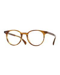 Delray 47 Optical Glasses Brown Oliver Peoples