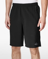 Greg Norman For Tasso Elba Men's Performance Shorts Only At Macy's Deep Black