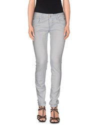Roy Rogers Roy Roger's Choice Denim Denim Trousers Women Light Grey