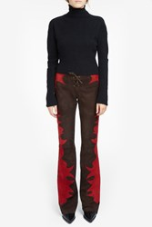 Jessie Western Women S Suede Flared Trousers Boutique1
