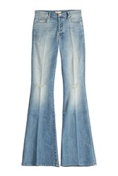 Mother The Stunner Cruiser Flared Jeans Blue