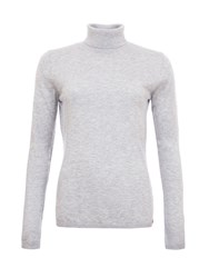 Garcia Roll Neck Jumper Grey