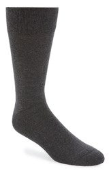 Men's Nordstrom 'Cushion Foot Arch Support' Socks Grey 3 For 30 Charcoal Heather
