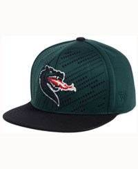 Top Of The World Uab Blazers Sun Breaker Snapback Cap Green Black