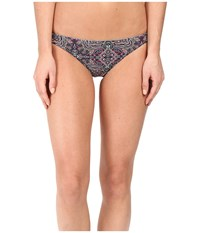 Volcom Sea La Vie Reversible Full Bottom Tidal Blue Women's Swimwear