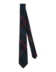 Daniele Alessandrini Homme Accessories Ties Men Dark Green