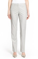 Women's Halogen Stretch Melange Suit Pants Grey Melange Pattern