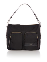 Radley Harley Black Large Hobo Bag Black
