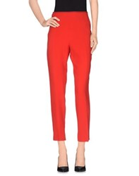 Schumacher Trousers Casual Trousers Women Red