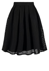 Wal G G. Pleated Skirt Black
