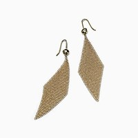Tiffany And Co. Elsa Peretti Mesh Earrings In 18K Gold Small. 18K Yellow Gold