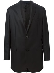 Lanvin Long Blazer Black