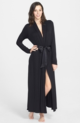 Fleurt 'Take Me Away' Long Robe Black