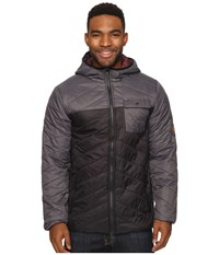 Rip Curl Ynez Jacket Charcoal Men's Coat Gray