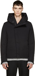 Attachment Black Down Filled Jacket