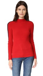 Tory Burch Sardy Sweater Maple Flower