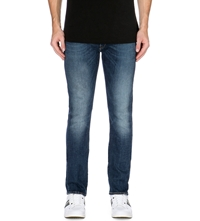 Paul Smith Slim Fit Tapered Jeans Blue