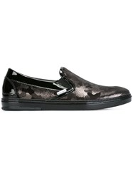 Jimmy Choo 'Grove' Slip On Slippers Black