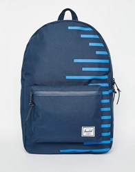 Herschel Supply Co Settlement Backpack With Stripe Blue
