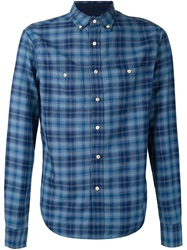 Alex Mill Checked Shirt Blue