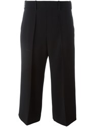 Neil Barrett Cropped Tailored Trousers Black