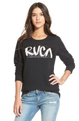 Junior Women's Rvca 'Out There' Sequin Pullover