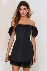 Nasty Gal To Be Adored Cassie Off The Shoulder Dress