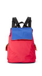 Bag Studio Backpack Red Blue Yellow