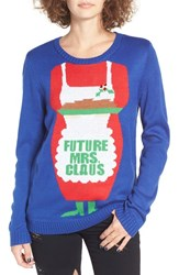 Love By Design Women's Future Mrs. Claus Christmas Sweater