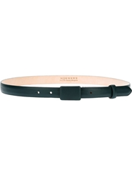 Maison Martin Margiela Thin Leather Belt Green