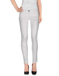 Camouflage Ar And J. Trousers Casual Trousers Women White