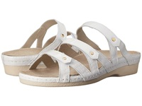 Helle Comfort Takara White Croco Women's Shoes