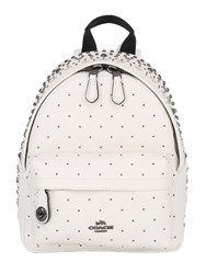Coach Ny Studded Leather Backpack