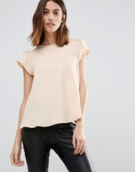 Vero Moda Cap Sleeve Swing Top Ivory White