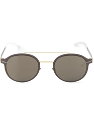 Mykita 'Crosby' Sunglasses Metallic