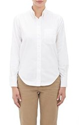 Vis A Vis Oxford Cloth Button Down Shirt White