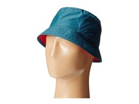 The North Face Sun Stash Hat Prussian Blue Tnf Red Traditional Hats White