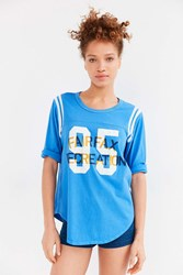 Truly Madly Deeply Recreation Numbers Tee Blue