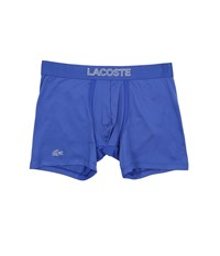 Lacoste Ultra Dry Single Boxer Brief Surf The Web Men's Underwear Blue