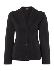 Therapy Suri Single Breasted Box Jacket Black