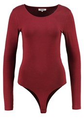 Zalando Essentials Long Sleeved Top Bordeaux